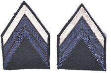 Paire  Galons de manche mle 1945 Brigadier-Chef PDL Arme Blindée Cavalerie (TG7)