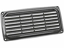 MARINE BLACK ABS PLASTIC LOUVERED VENT FOR BOAT, CARAVAN & RV – FIVE OCEANS