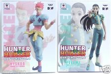 Lot of 2 Hunter x Hunter Figure  Hisoka  & Illumi Hyskoa Yellmi DXF VOL 4 F/S