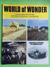 World Of Wonder - No.73 - 14th August 1971 - Whatever Happened To Farmer Giles?