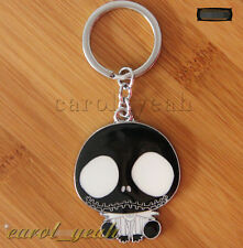 Nightmare Before Christmas Jack Metal Key Ring Chain Keyring New w Packing black