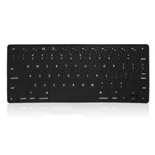 "REDUCE OVERHEAT ! BLACK Silicone Keyboard Cover for Macbook Pro15"" A1286"