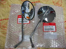 Honda CB 750 k1 miroir set original Mirror set 88220-329-730