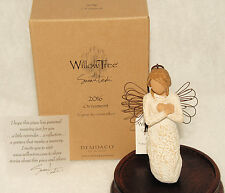 Demdaco - Willow Tree - 2016 Christmas Angel Ornament - 27540 *BRAND NEW in BOX