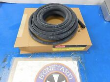 """NEW THERMOID REINFORCED BLACK 5/16"""" X 25' ROLL  FUEL & OIL  LINE HARLEY CHOPPER"""