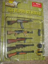 1/6th WW2 Axis Weapon Set 3, Soumi, Beretta, ZK 383 SMG, VG 1-5 Assault Rifle