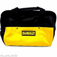 "New Dewalt 12"" Tool Bag/Case For Drill, Saw, Grinder, Battery 18V 12 14 18 VOLT"