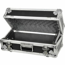 "19 "" 4U équipements vol case-mixer / patch panel rack stockage box poignée -- transit"