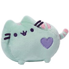"NEW OFFICIAL GUND Pusheen The Cat Pastel Green 5"" Small Plush Soft Toy 4048875"