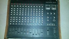 Vintage Soviet Elektronika PM 01 audio mixer 12 channel with built in reverb