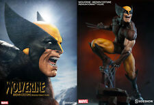 Sideshow Marvel Wolverine – Brown Costume Premium Format Figure Statue In Stock