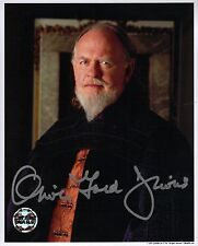 Hand Signed 8x10 colour photo OLIVER FORD DAVIES as SIO BIBBLE in STAR WARS