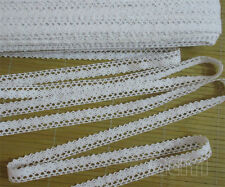 5 Yards Vintage Cotton Crochet Lace Edge Trim Ribbon Sewing Crafts Scallop DIY