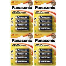 16x AA Alkaline Power PANASONIC- LR06 Mignon LR6 - BATTERIEN - 1,5 Volt * Size M