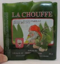 La Chouffe Homemade Decorative Piece Paperweight Gnome Ale Green Bottle