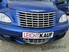 CHRYSLER PT-CRUISER 2001 - 2006 KÜHLERGRILL GRILL   2-TEILIG  CHROM