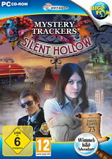 **MYSTERY TRACKERS * SILENT HOLLOW *  WIMMELBILD-SPIEL  PC DVD-ROM