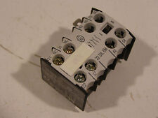 Moeller 22DILEM Auxiliary Contactor 60 Day Warranty + Free Shipping