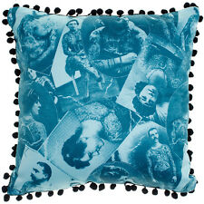 Sourpuss Old Timers Pillow Blue Old School Traditional Tattoo Images