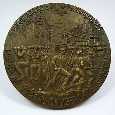 Bronze Medal / O.N.U. Human Rights / Onu Workers Protection / Men Woman