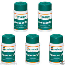 Himalaya Herbal Diabecon DS 5 X 60 Tablets Double Strength Contol Sugar Level