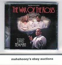 War of the Roses & The Sandbox (David Newman) SOLD OUT LE 2000 OOP CD Soundtrack