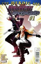 HAWKEYE & MOCKINGBIRD (2010) #1-6 COMPLETE SET LOT FULL RUN NEW AVENGERS MCCANN