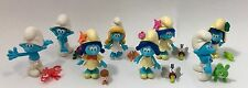 SMURFS THE LOST VILLAGE MOVIE COMPLETE SET ALL 8 BLIND BAG COLLECTIBLE FIGURES