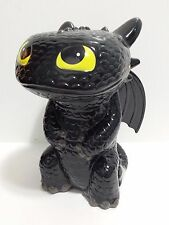 """NEW Toothless Piggy Bank Dragon Night Fury How To Train Your Dragon 8"""" 2015"""