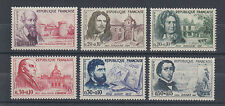 France Sc B341-B346 MNH. 1960 Semi Postals to Aid the Red Cross complete, VF