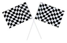 Checkered Flags (2) - Race Car Themed Birthday Party Supplies
