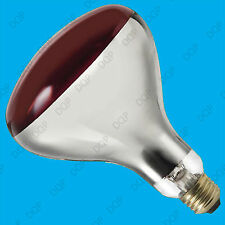 2x 250W Infra Red Heat Bulb Ruby Red ES E27 Lamp, Muscular Healthcare Rheumatism