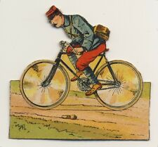 IMAGE CARD DECOUPIS WWI 14 18  RÉGIMENT Estafette Cyclistes