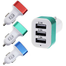 Universal Car charger To 5V 2A 2.1A 1A 3Port USB Charger