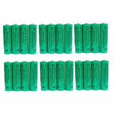 24 pcs AA 900mAh Ni-Cd  Ni-Cad 1.2V Rechargeable Battery RC Solar Green US Stock