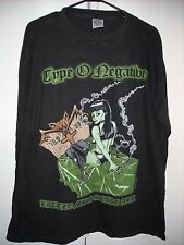 VINTAGE TYPE O NEGATIVE LITTLE MISS SCARE ALL LORDS CONCERT TOUR L/S T-SHIRT XL