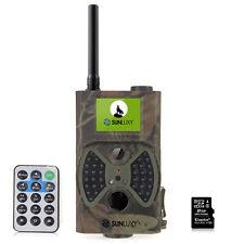 SUNLUXY® Caméra de Chasse Surveillance Vidéo Avec le MMS  Camouflage
