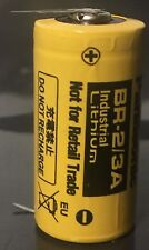 Brand New Panasonic BR-2/3A 3V Lithium Battery with 2 Pins