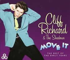 CLIFF RICHARD & THE SHADOWS MOVE IT - THE BEST OF THE EARLY YEARS - 3 CD BOX SET