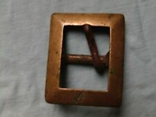 Antique Brass: Oblong Bevelled Perimeter Belt Buckle