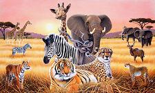 Safari II Wall Mural
