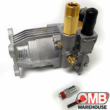 "Homelite 3000 PSI Pressure Washer Pump 309515003 3/4"" Horizontal Shaft + Valve"