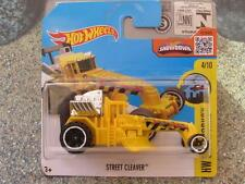 Hot Wheels 2016 #169/250 STREET CLEAVER yellow HW City Works Case D