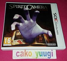 SPIRIT CAMERA LE MEMOIRE MAUDIT NINTENDO 3DS COMPLET VERSION FRANCAISE
