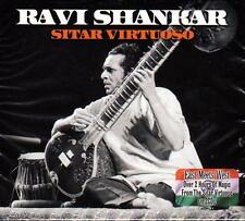 RAVI SHANKAR - SITAR VIRTUOSO (NEW SEALED 2CD)
