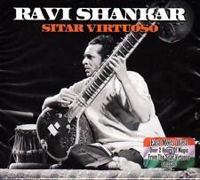 RAVI SHANKAR - SITAR VIRTUOSO (NEW SEALED 2CD)