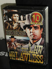 Law and the Lawless (DVD) 10 Movies, Gods Gun, Blood And Honor, Beyond The Law,
