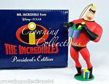 Grolier Pixar Mr. Incredible President's Edition Ornament The Incredibles Disney