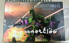 Transformers Generation Toy Devastator GT-1D Bulldozer in Stock