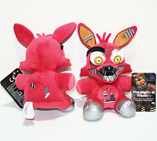 "6"" Nightmare FOXY RED Fox Five Nights At Freddy's Plush Toy Funko Series 2 NEW"